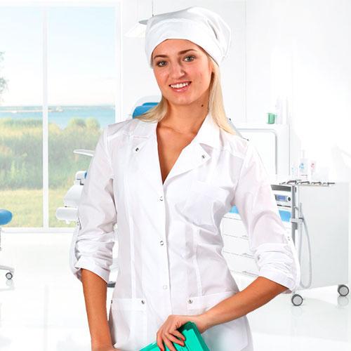 Медицинская одежда женская